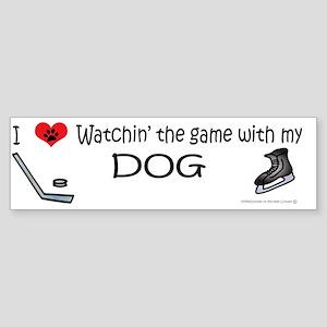 hockey Sticker (Bumper)