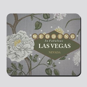 Wedding In Las Vegas Mousepad