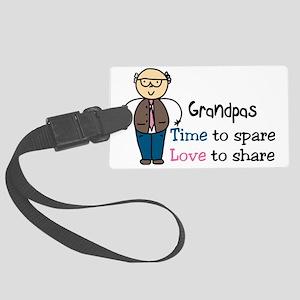 Grandpas Large Luggage Tag