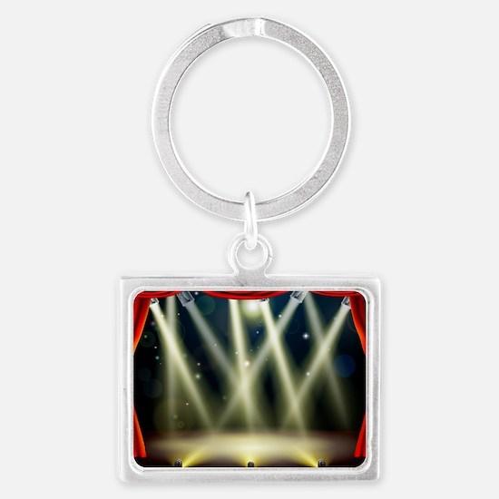 Stage Landscape Keychain