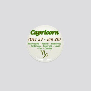 Capricorn Description Mini Button