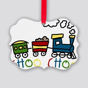Choo Choo Picture Ornament