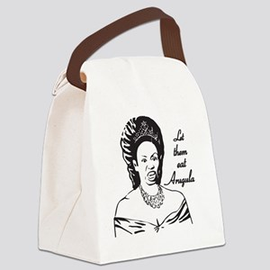 Queen of Arugula Canvas Lunch Bag