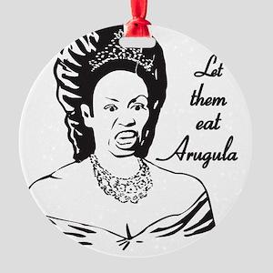 Queen of Arugula Round Ornament