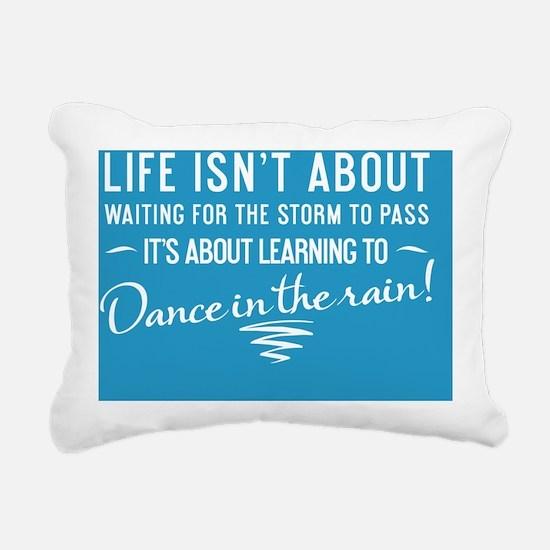 greeting card Life isnt  Rectangular Canvas Pillow