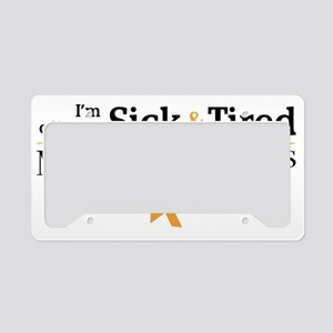 Multiple Sclerosis License Plate Holder