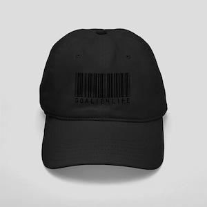 """Barcode"" Black Cap"
