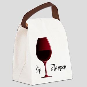 Sip Happens Canvas Lunch Bag