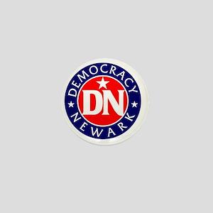 Democracy Newark Mini Button