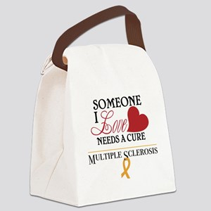 Multiple Sclerosis Canvas Lunch Bag