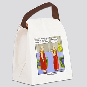 Buddhist Compliment Canvas Lunch Bag