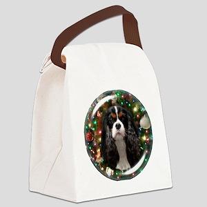 Tricolor Cavalier Canvas Lunch Bag