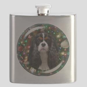 Tricolor Cavalier Flask