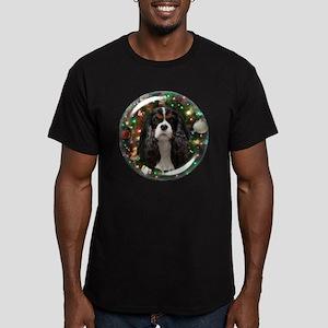 Tricolor Cavalier Men's Fitted T-Shirt (dark)