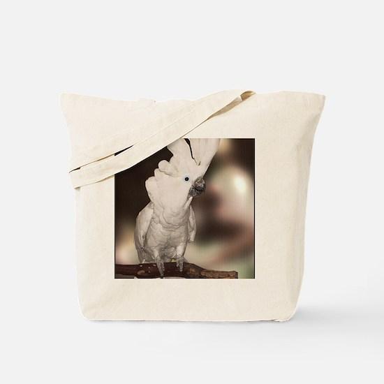 Umbrella Cockatoo Tote Bag