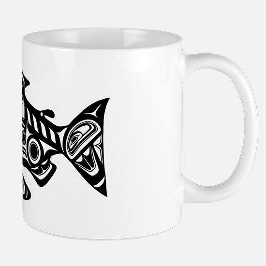 Native American Salmon Mug