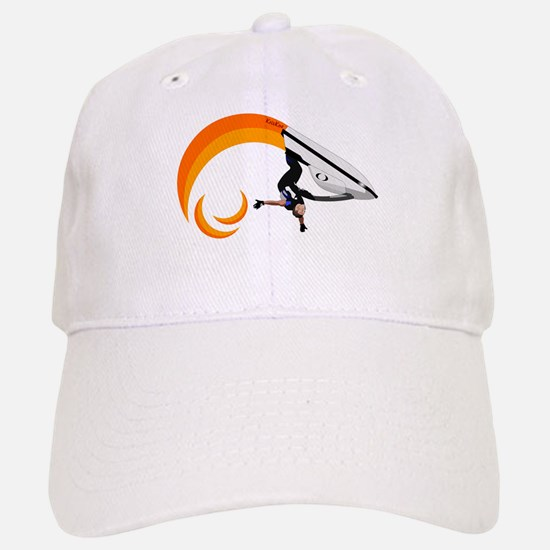 Hot Roll Baseball Baseball Cap