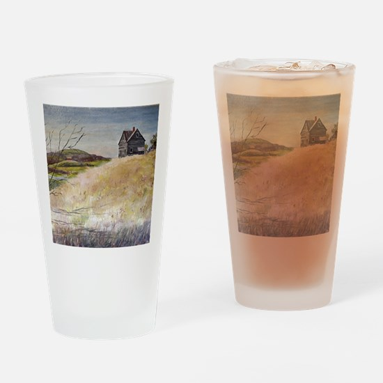 Old House Drinking Glass