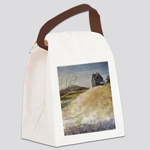 Old House Canvas Lunch Bag