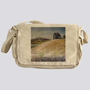Old House Messenger Bag