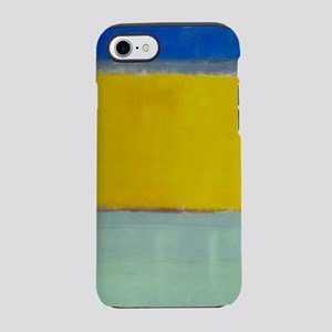 ROTHKO BLUE YELLOW iPhone 7 Tough Case