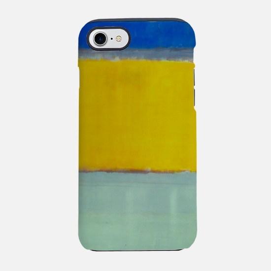 ROTHKO BLUE YELLOW iPhone 7 Tough Case