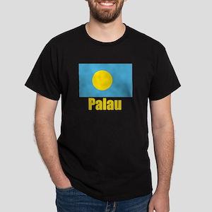 Palau Flag Dark T-Shirt