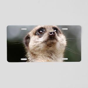 Meerkat Galaxy Case Aluminum License Plate