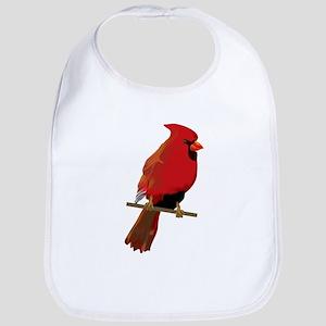 Male Cardinal Bib