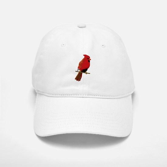 Male Cardinal Baseball Baseball Cap