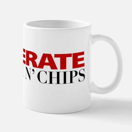 """Desperate for Fish n' Chips"" Mug"