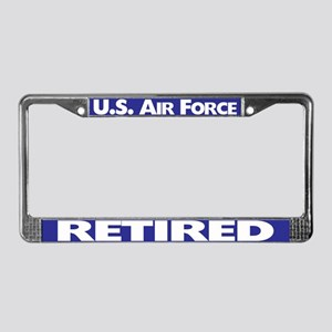 U.sr Force Retired License Plate Frame
