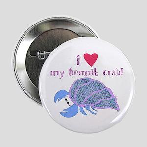 I love my hermit crab Button