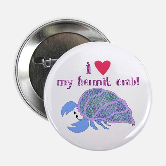 I love my hermit crab Button