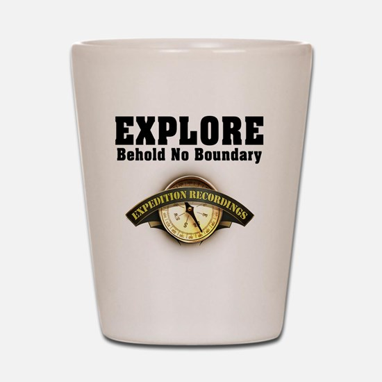 Expedition - Motto Shot Glass