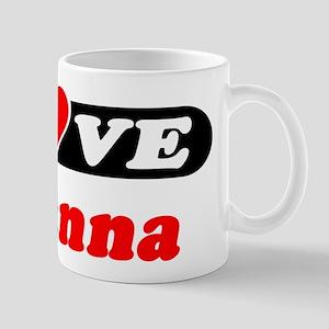 I Love Rosanna Mug