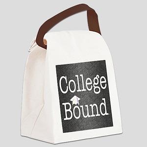 College Bound Canvas Lunch Bag