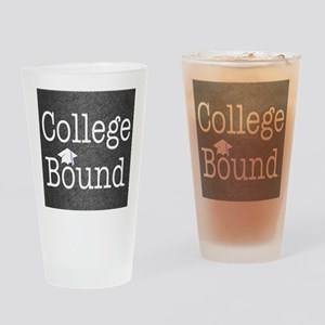 College Bound Drinking Glass