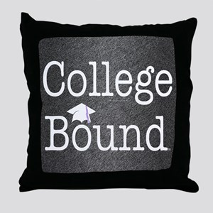 College Bound Throw Pillow
