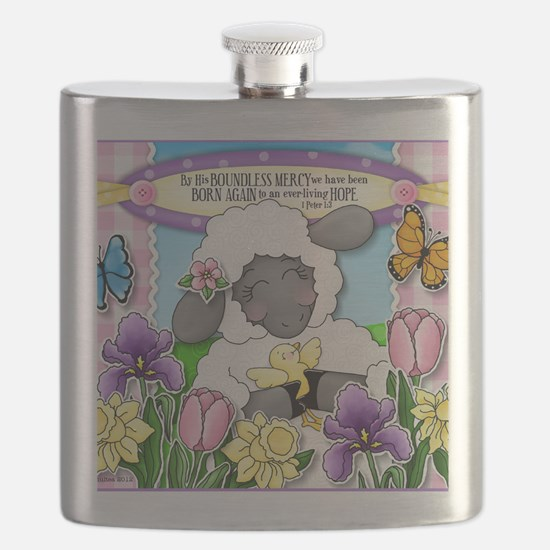 Cuddly Sweet Sheep Flask