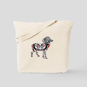 NORTHWESTERN RAM Tote Bag