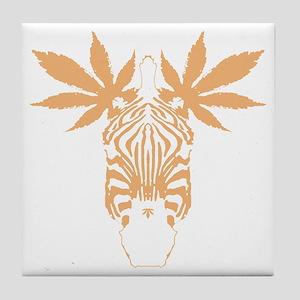 frst_mzebra Tile Coaster
