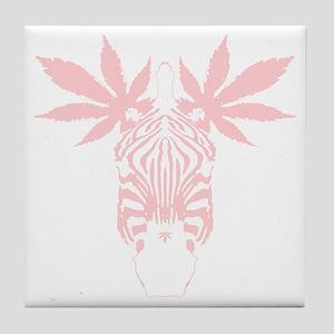 red_mzebra Tile Coaster
