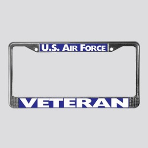 U.sr Force Veteran License Plate Frame