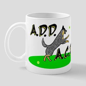 add acd blue Mug