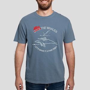 Arm the Whales Women's T-Shirt (Dark) T-Shirt