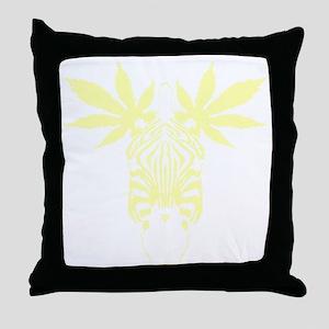 nvy_mzebra Throw Pillow