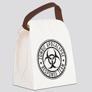 Zombie Apocalypse Response Team Canvas Lunch Bag