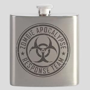 Zombie Apocalypse Response Team Flask