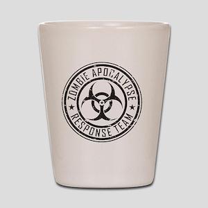 Zombie Apocalypse Response Team Shot Glass